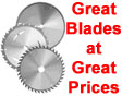 Great Saw Blades at Great Prices!